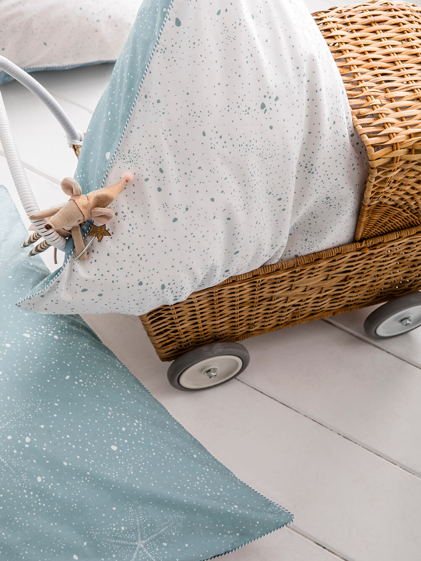 Parure de lit en percale de coton GALATEE
